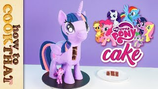 My Little Pony Princess Twilight Sparkle 3D Cake How To Cook That Ann Reardon