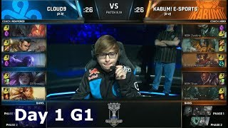 Download C9 vs KBM | Day 1 Play-In Stage S8 LoL Worlds 2018 | Cloud 9 vs KaBuM! e-Sports #Worlds2018 Video