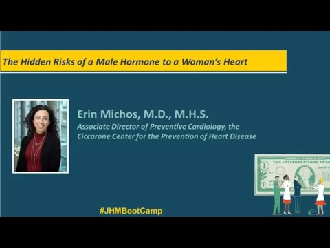 The Hidden Risks of A Male Hormone to a Woman's Heart | Erin Michos, M.D., M.H.S.