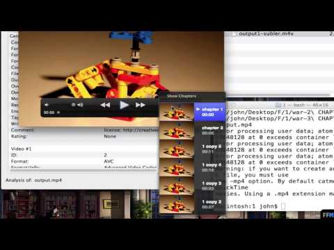 Merge MP4 files and Keep Chapters Free on Mac
