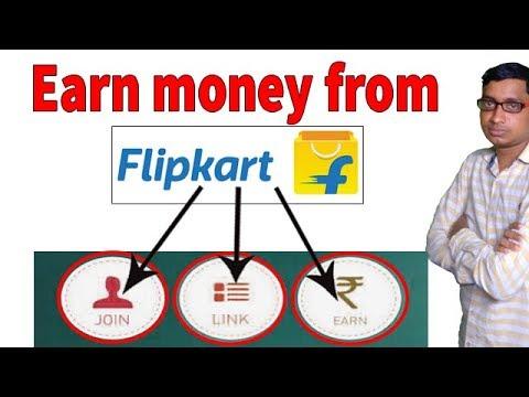 Earn money by referring Flipkart product