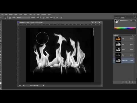 Photoshop: Channels & Removing Backgrounds