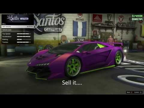GTA 5 Online PS4 Sell Cars Back to Back Skip 45 minute wait! After patch 1.36