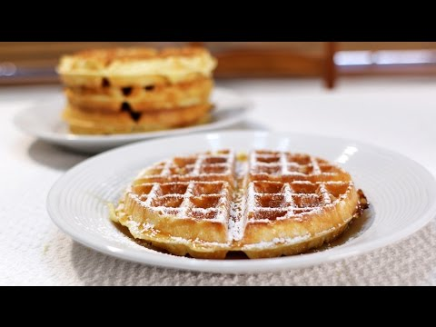How to Make Classic Restaurant Style Belgian Waffles