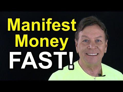 Manifest Money Fast - 3 Secrets Using LOA to Make More Money