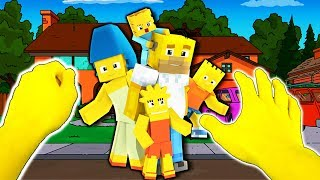 Realistic Minecraft - BECOMING THE SIMPSONS IN REAL LIFE!