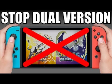 Dual Version Pokemon Games Should Be REMOVED For Pokemon Switch