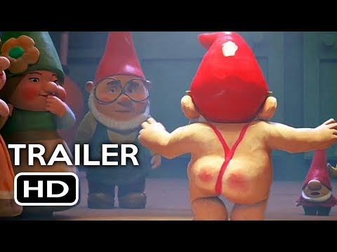 Sherlock Gnomes Official Trailer #1 (2018) Johnny Depp, Emily Blunt Animated Movie HD