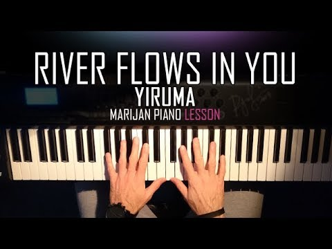 How To Play: Yiruma - River Flows In You | Piano Tutorial Lesson + Sheets