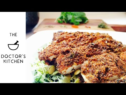 S1 E5 - Flaxseed Crusted Chicken!