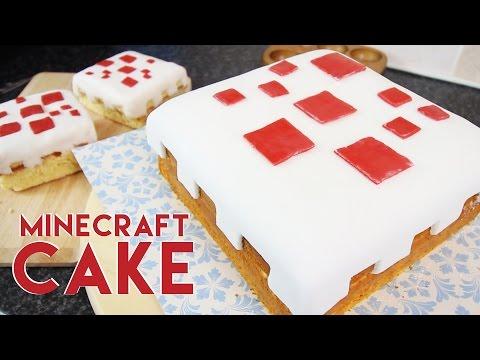 How to make a Minecraft Cake | Tom Burns