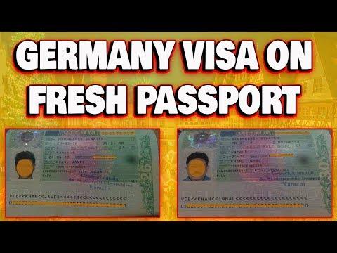 Germany Visa On Fresh Passport Success Story