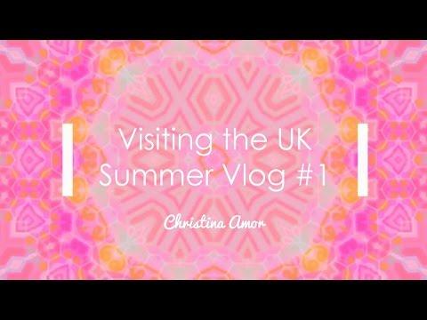 Christina does England! Reading, Westminster, Tower of London (Summer Vlog #1)  ♡ Christina Amor