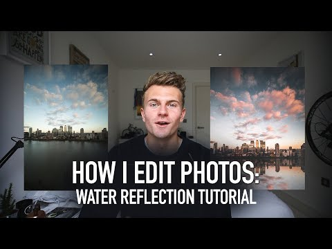 HOW I CREATE AN IMAGE: WATER REFLECTION TUTORIAL (Photoshop)
