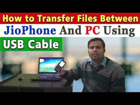 How to Connect Jio Phone to PC via USB Data Cable | Jio Phone Files Transfer to Laptop and PC