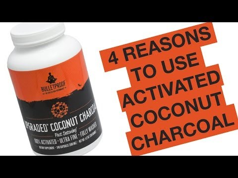 4 Reasons Why You Need Activated Coconut Charcoal