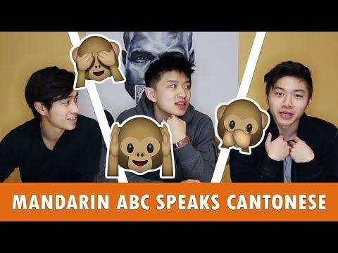 CHINESE LANGUAGE CHALLENGE - CANTONESE VS MANDARIN - MANDARIN SPEAKER SPEAKS CANTONESE - 北京華裔講廣東話!