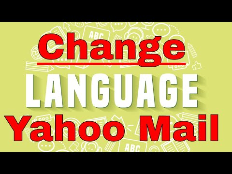 How to change your language in Yahoo Mail
