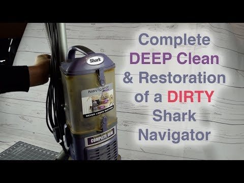 How to DEEP CLEAN / Refurbish a DIRTY Shark Navigator Lift Away Vacuum