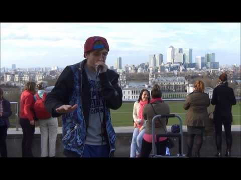 Beatboxing in Greenwich, London. By CONTRIX beatboxer. Great Sound