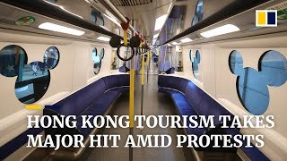 Hong Kong tourism industry devastated by ongoing protests