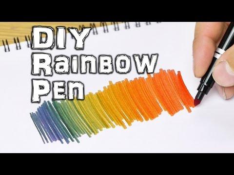 Rainbow Coloring Pen - Life Hacks for Kids