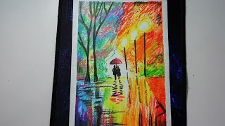 Pastel Boya Manzara Resmi çizimi Videos 9tubetv