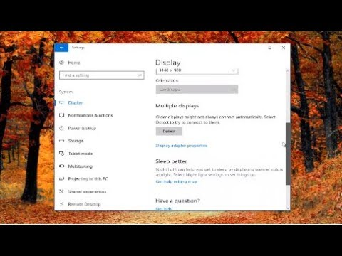 Windows 10 Won't Detect Second Monitor - How To Fix [2018 Tutorial]