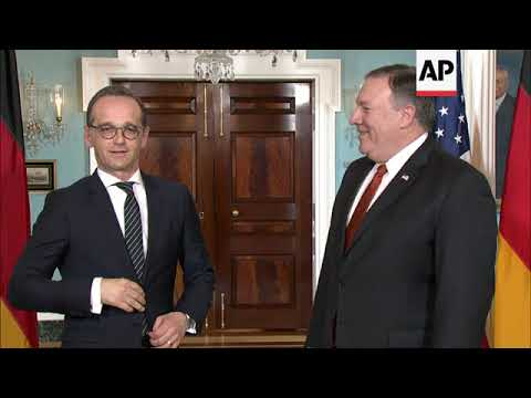 Pompeo Meets with German Foreign Minister