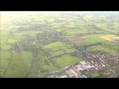 Ryanair Flight FR2107 taking off from Manchester Airport (to Corfu)