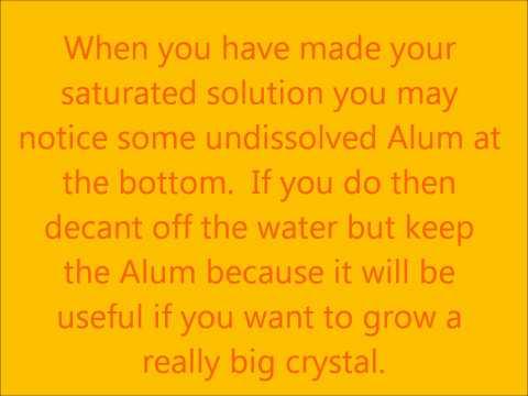 Red Alum Crystals