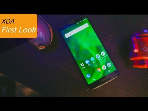 First Look at the Moto G6