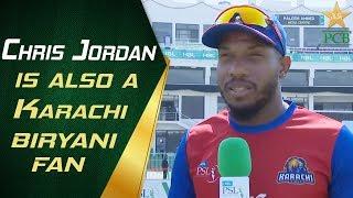 Chris Jordan is also a Karachi biryani fan!   PCB