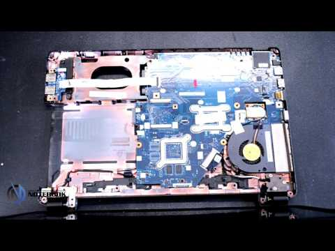 Acer Aspire E1-570g - Disassembly and cleaning