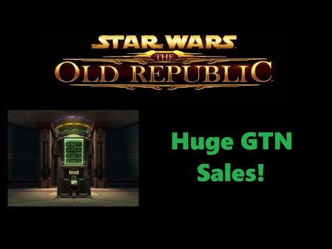 SWTOR: Do Expensive Items Sell on the GTN? (Earning 1,500,000,000 Credits!)