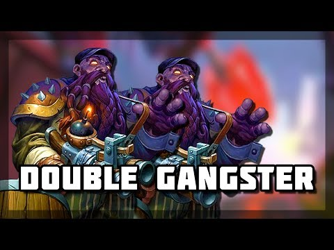Hearthstone - Double Gansters and 2HP Comeback
