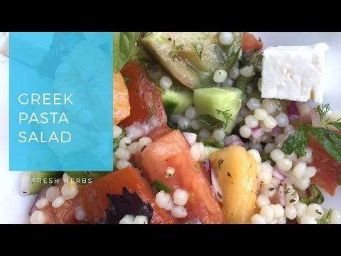 How to Make Greek Pasta Salad
