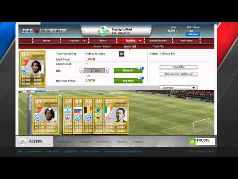 Fifa 12 Ultimate Team - The Russian League is Good?