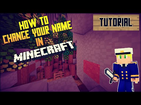 HOW TO CHANGE YOUR NAME IN MINECRAFT [2015]   Tutorial [English/HD]