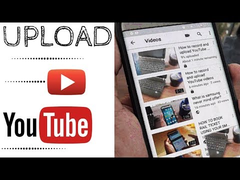 HOW TO UPLOAD VIDEOS ON YOUTUBE USING YOUR SMARTPHONE   ANDROID