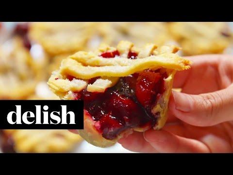 How To Make Muffin Tin Cherry Pies   Delish