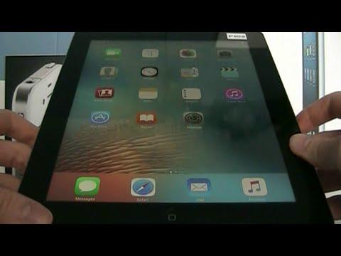Home Screen Glitch in iOS 9.2.1 Setup.app - iCloud Locked iPad 4 (P102AP)