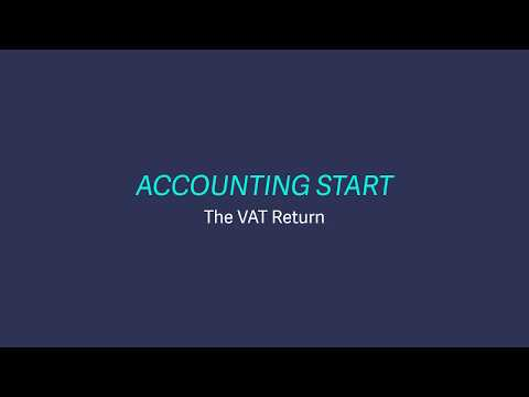 Sage Business Cloud Accounting Start (UK) - VAT Returns
