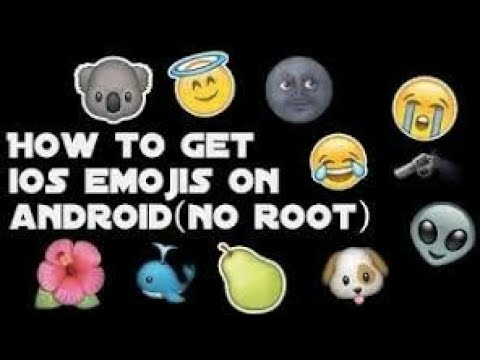 [READ DESC.]How To Get Iphone Emojis For Android(no root) [2017] 100% WORKING