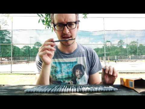 BiC Pen UnBoxing & ART TEST (Art Research #1)