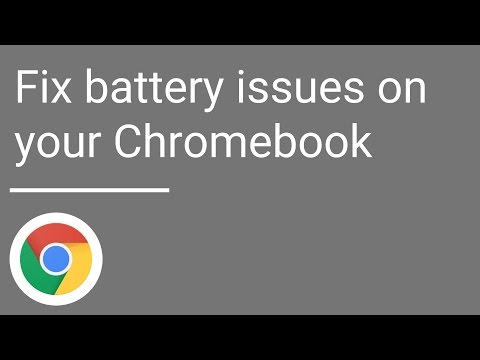 Fix battery issues on your Chromebook