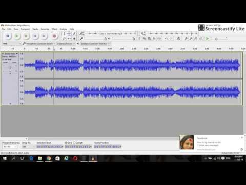 how to make karaoke in auda city ( karaoke kasari banaune audacity bata)