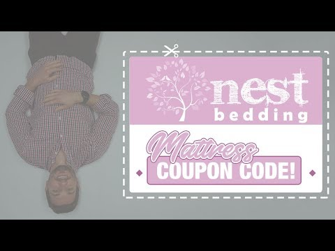 Nest Bedding Coupon Code - WATCH Before You Buy This Mattress!