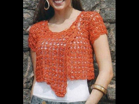crochet shrug| how to crochet vest shrug free pattern tutorial for beginners 26