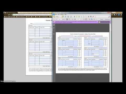 Saving Fillable PDF